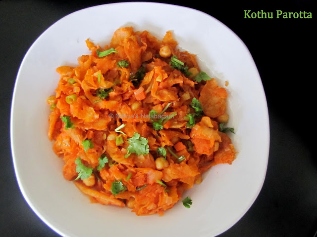 Dry Kothu Parotta