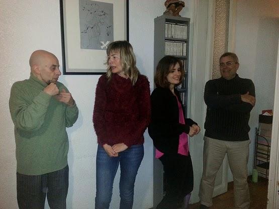 Beneyto, Mur, Iris Parra i Marc Ignasi