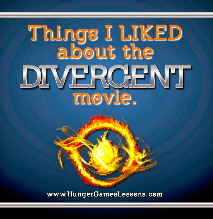 Things I LIKED about the Divergent Movie  from www.hungergameslessons.com