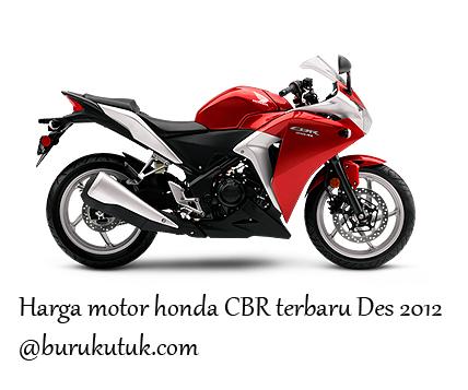 Harga Motor Honda CBR Terbaru Desember 2012