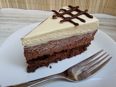 Three chocolate cake