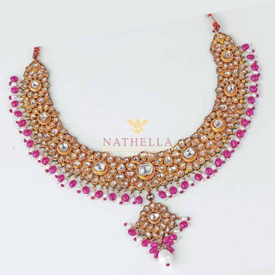 Nathella Necklace models