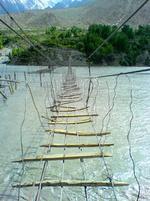 Passu - Hussaini Suspension Bridges