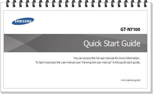 Samsung galaxy s5 quick start guide
