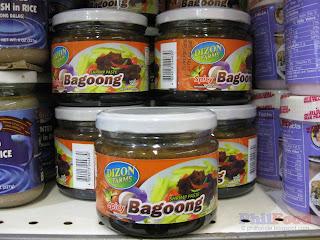 bagoong alamang - Filipino condiment