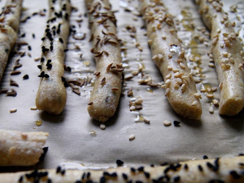 Paluszki serowe gryczane i ryżowe i zupa krem z dyni