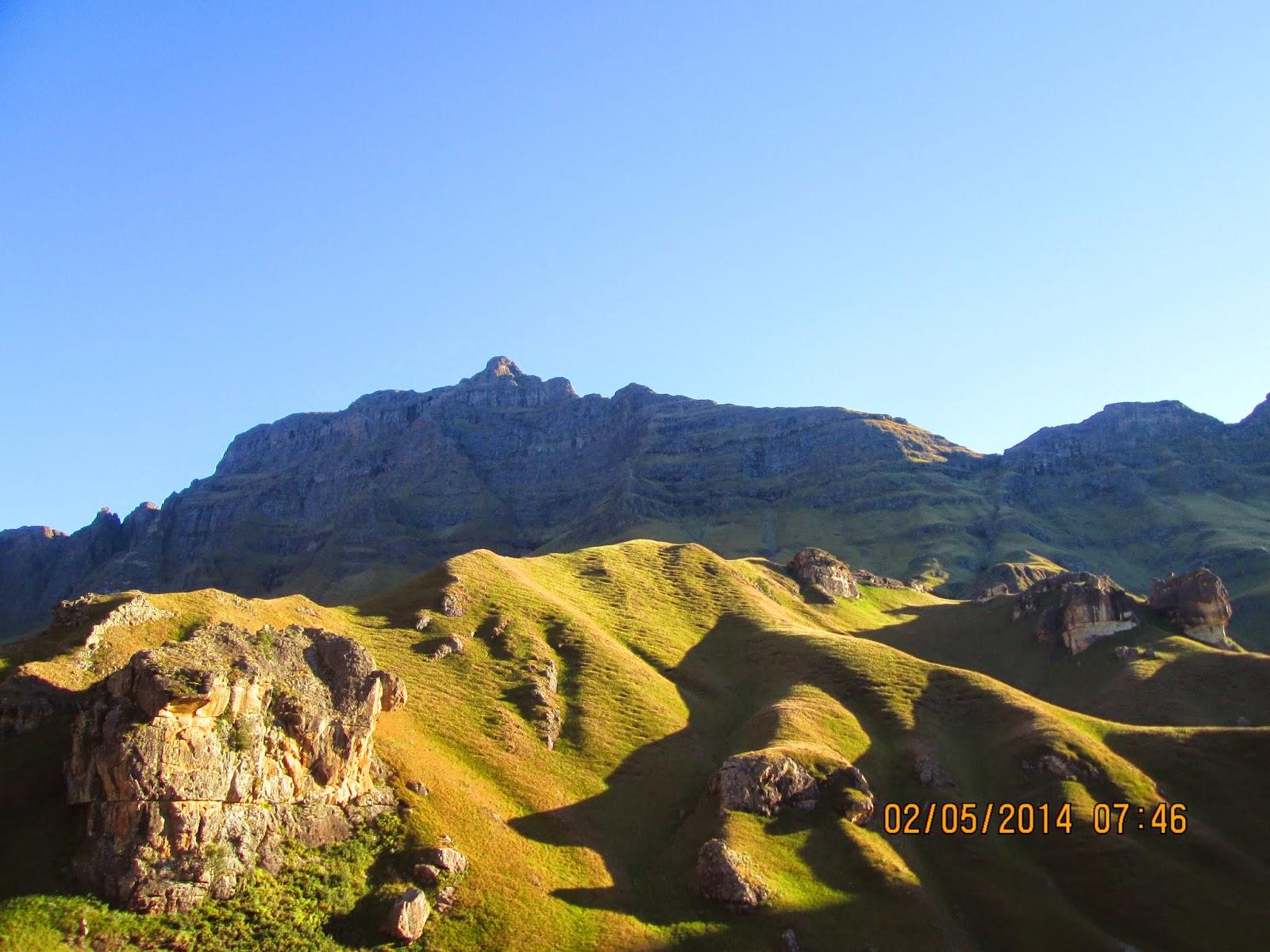 KZN green mountains and shadows