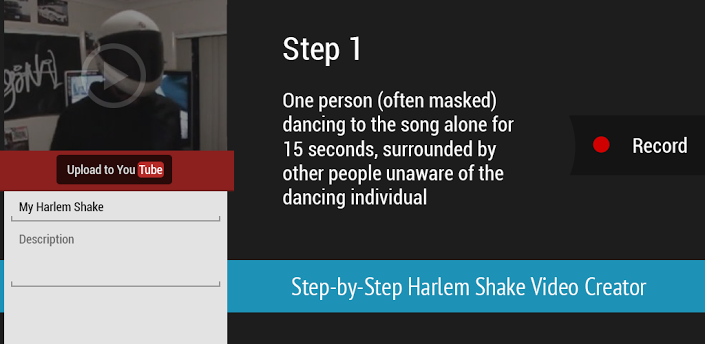 create harlem shake videos on Android