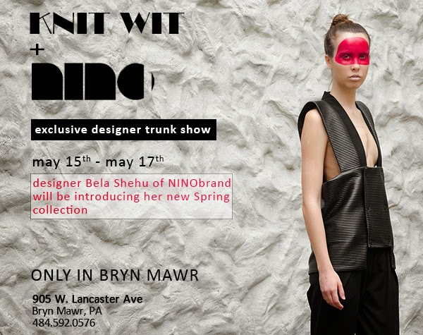 NINObrand Trunk Show May 2015