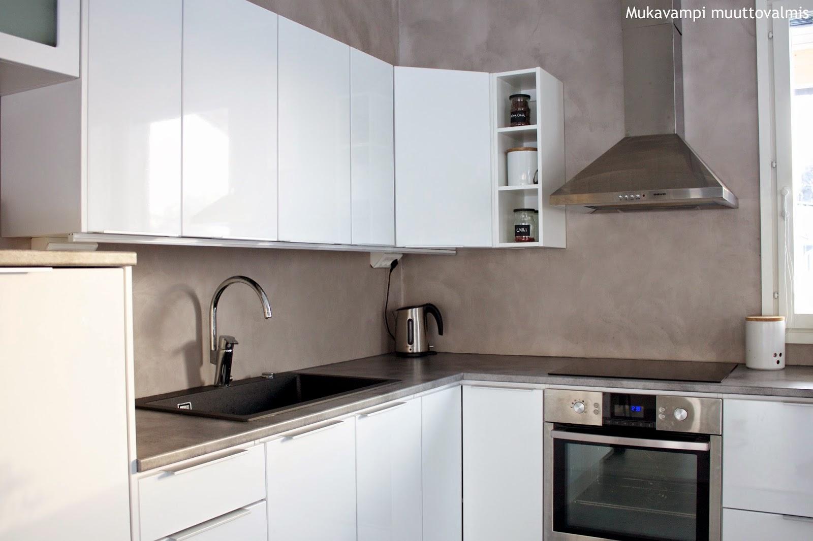 Mukavampi muuttovalmis Mikrolaasti keittiössä