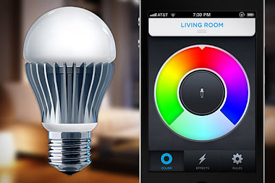 okokno lifx the wifi enabled light bulb. Black Bedroom Furniture Sets. Home Design Ideas