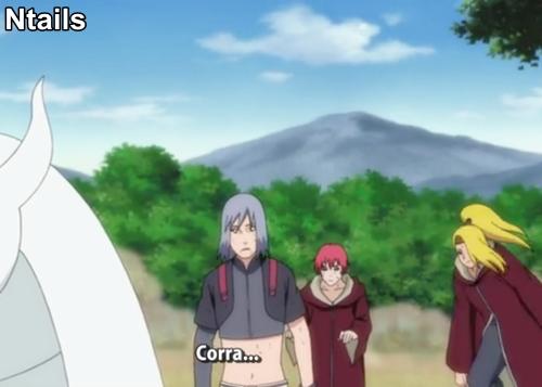 Naruto Shippuden episódio 263 - Sai e Shin