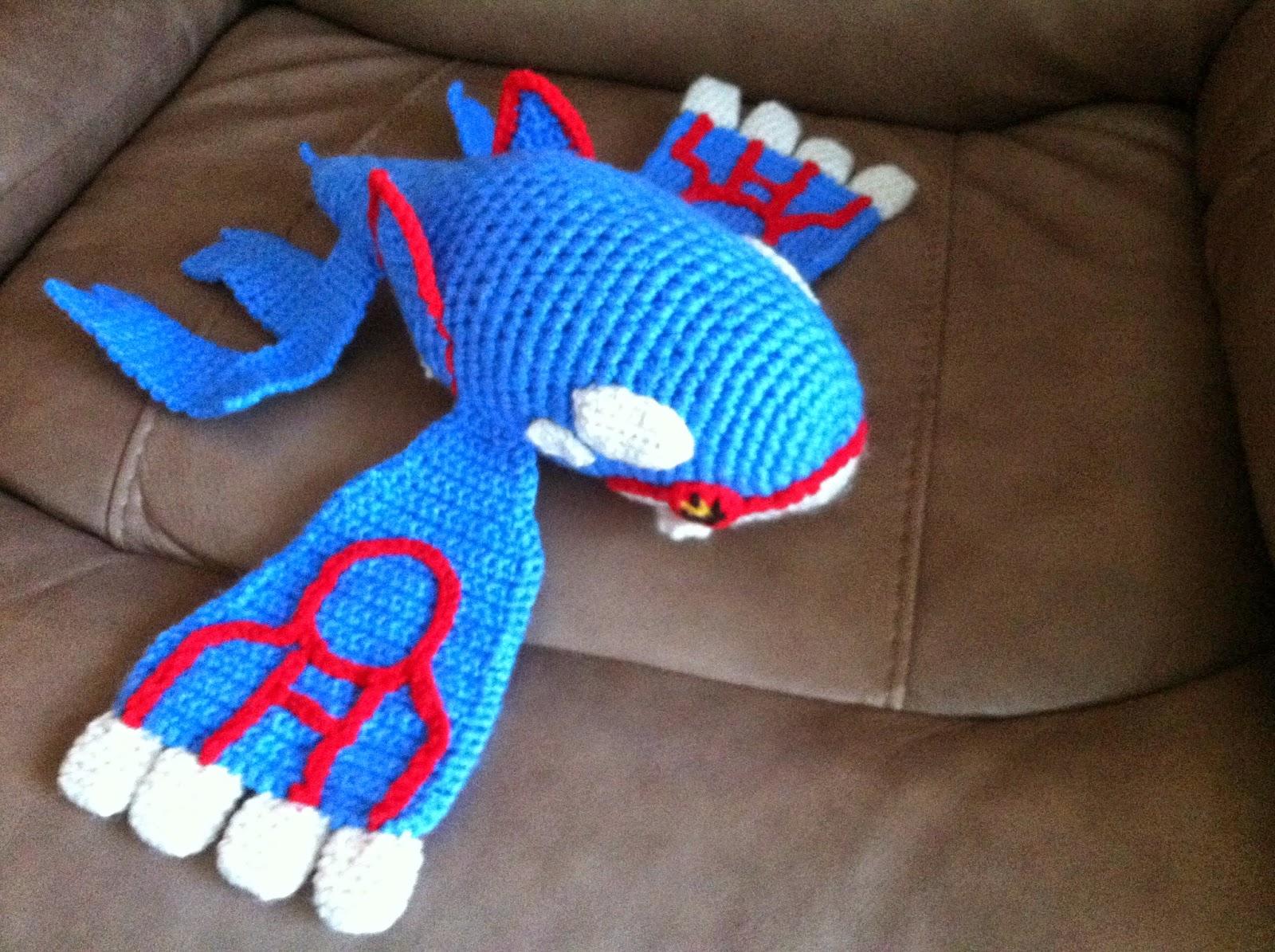 Heart in flight crochet kyogre crochet plush pattern bankloansurffo Gallery