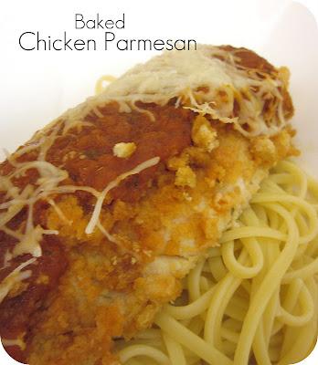Baked Crispy Chicken Parmesan Recipe   Six Sisters' Stuff