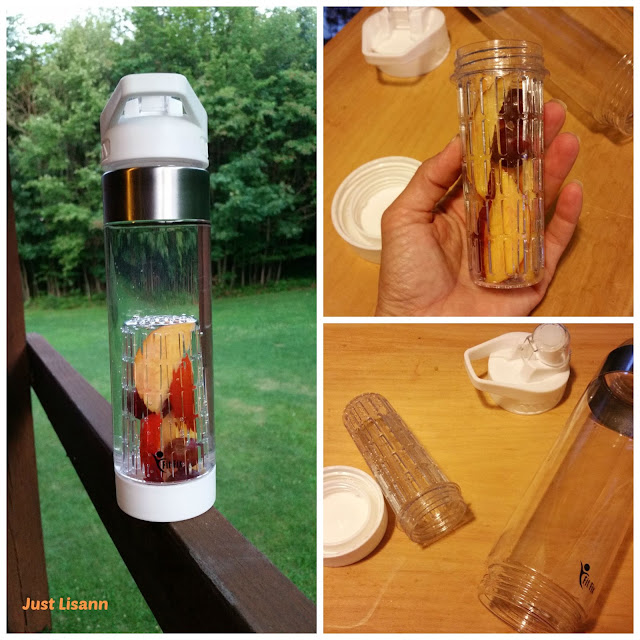 Fit Fix infusion water bottle review