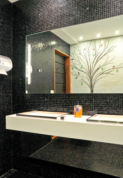 decoracao banheiro pastilhas:Cantinho da Sonia: Decoração Com Pastilhas de Vidro
