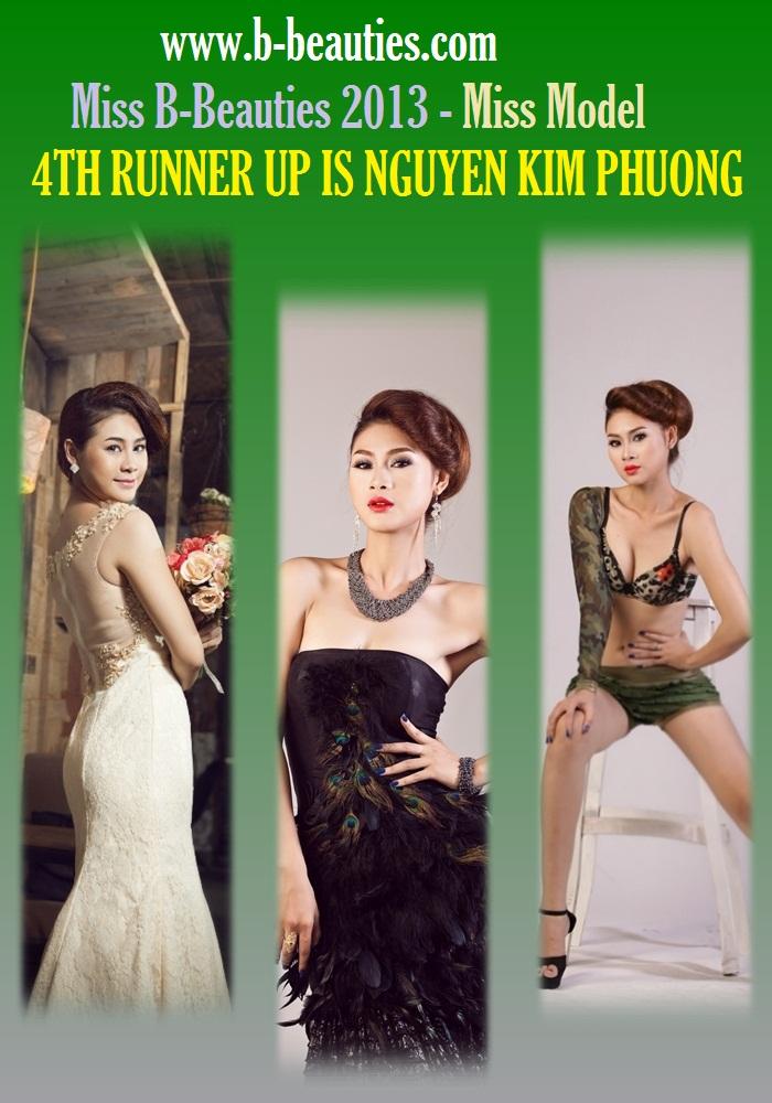Người đẹp Nguyễn Thị Bích Nga giành giải thưởng Nữ hoàng Người mẫu Việt Nam qua Ảnh 2013