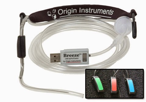 Origin Instruments Breeze switch interface and three Marblesoft Ultralight switches.