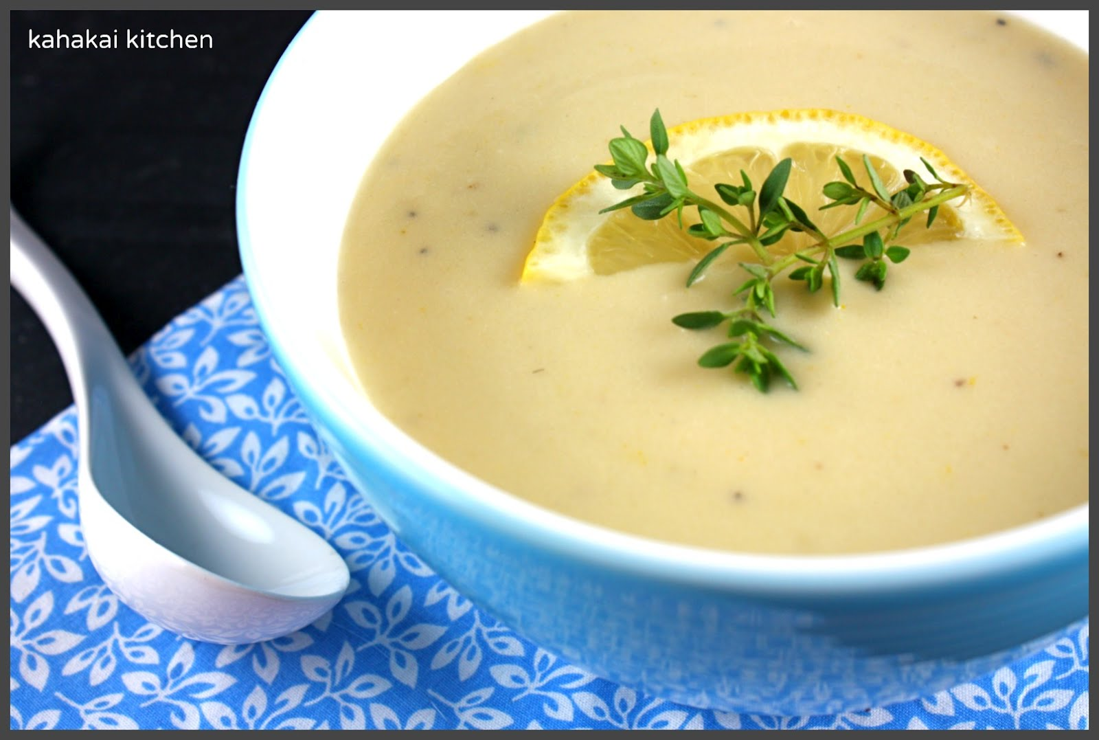 ... -Lemon Soup: Hot or Cold for Souper (Soup, Salad & Sammie) Sundays