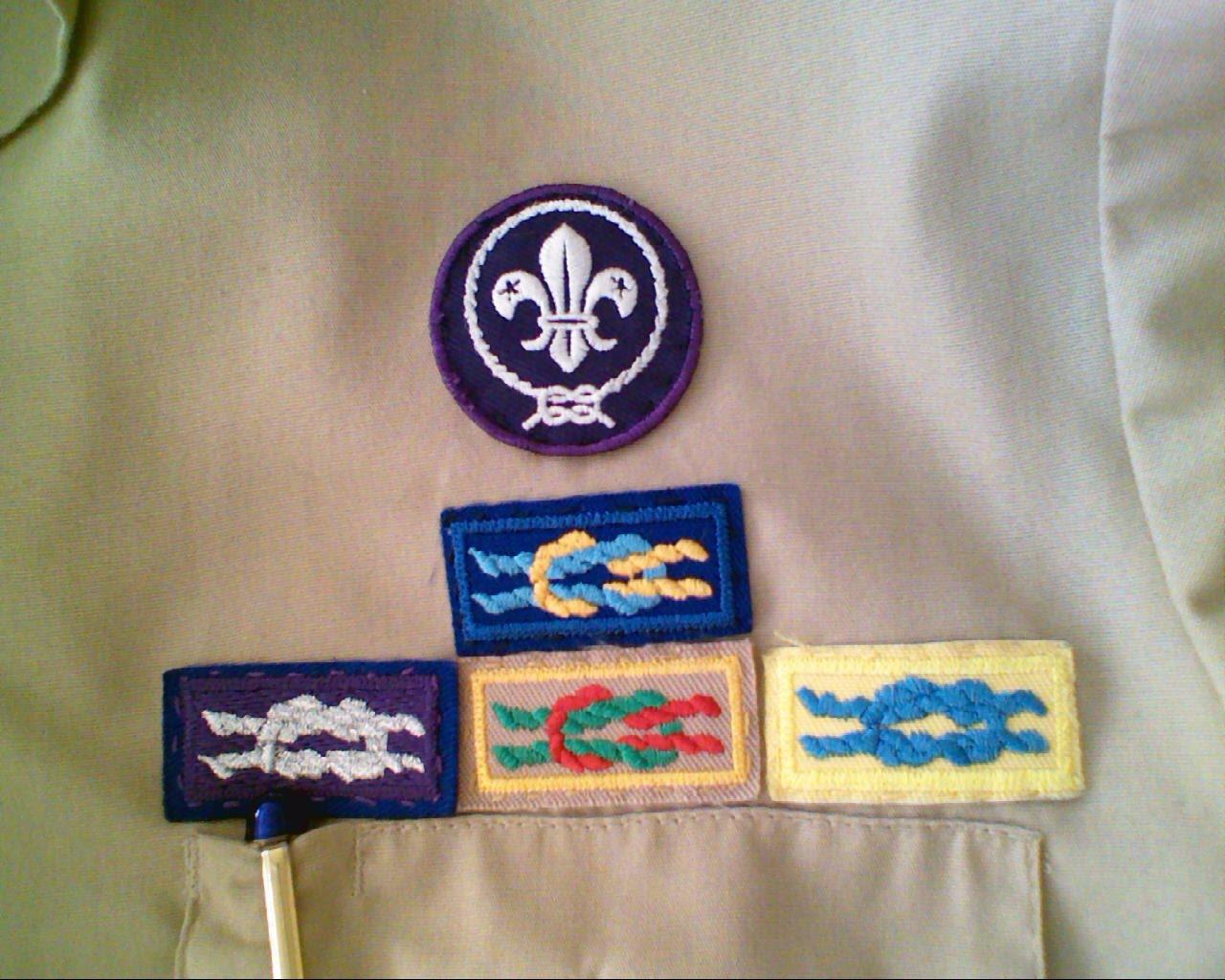 Adult cub scout religious emblem