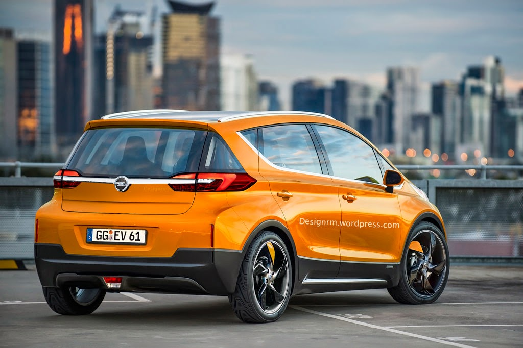 Opel Trixx - Rendering by RM Design