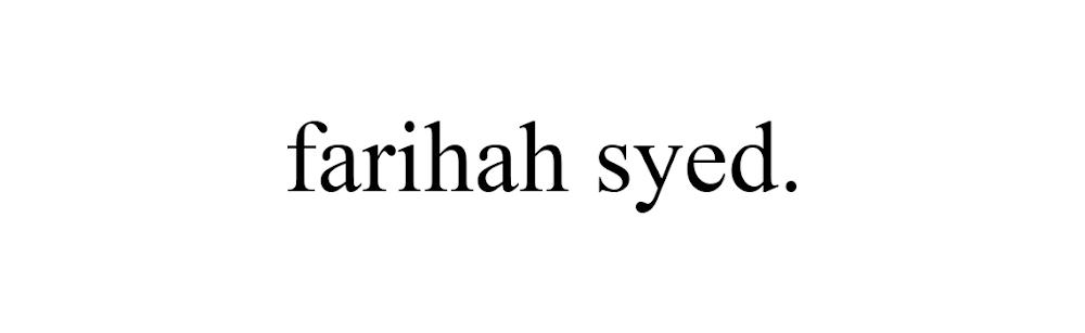 farihah syed.