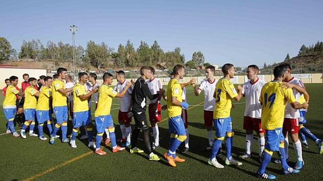 la UD Las Palmas pretemporada primera división