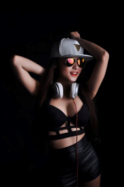 Dung nhan nữ DJ 9x Nha Trang từng trốn nhà đi chơi nhạc