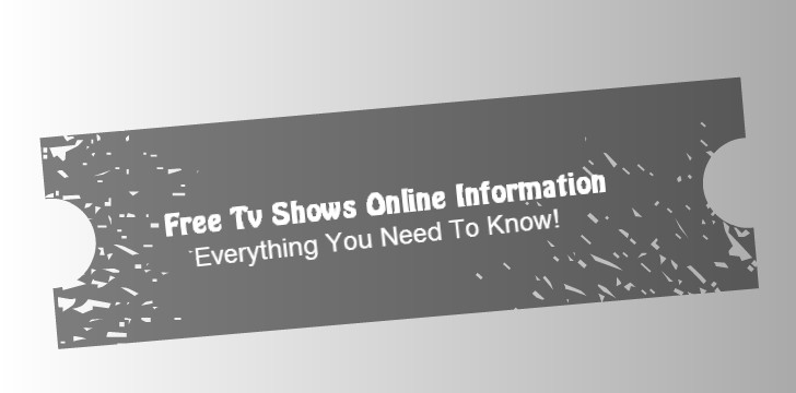 Free Streaming TV Shows Online
