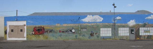 Chugwater Museum mural - Chugwater, Wyoming