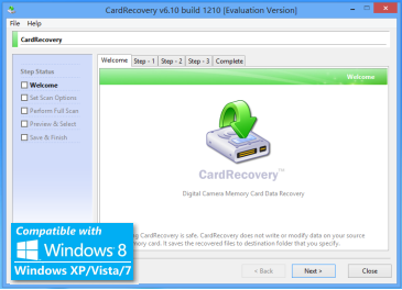 cardrecovery key 6.10 build 1210 serial key + crack full free download