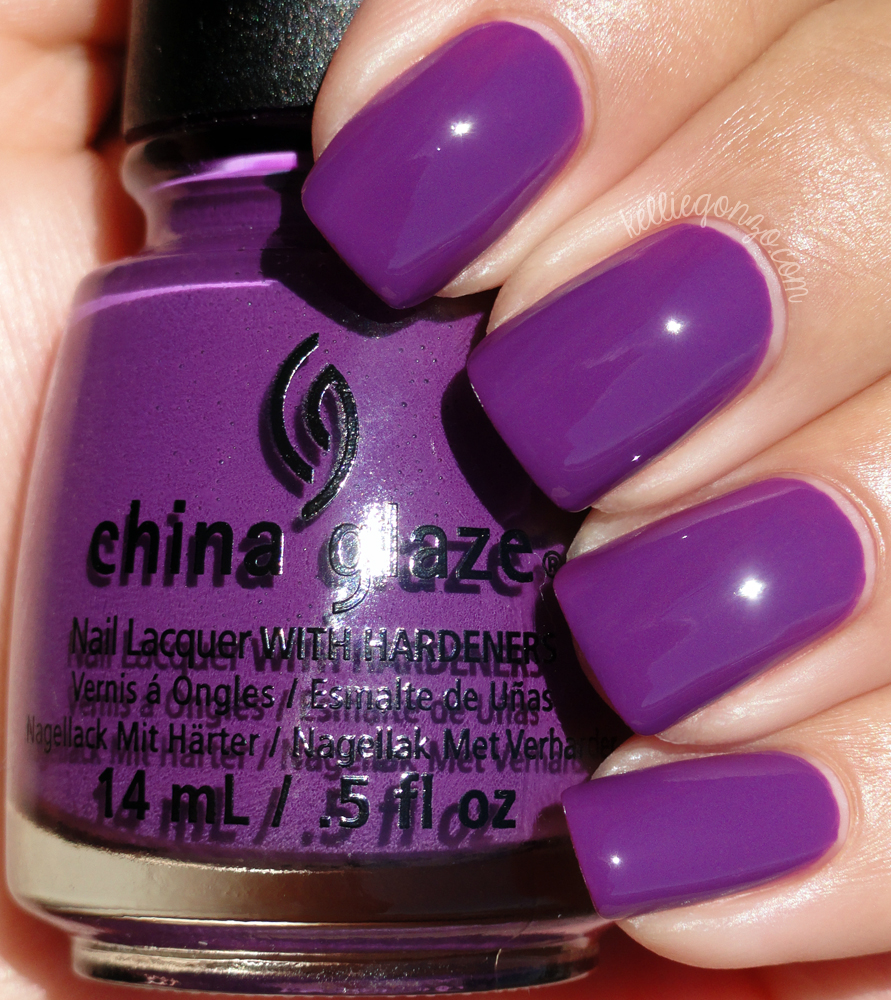 China Glaze - X-Ta-Sea // kelliegonzo.com