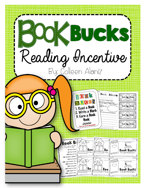 https://www.teacherspayteachers.com/Product/Book-Bucks-Reading-Incentive-274474