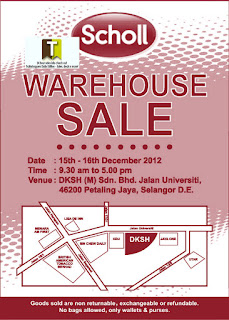 SCHOLL Warehouse Sale 2012