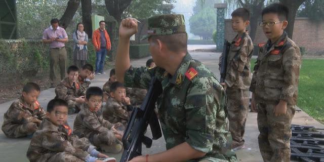 Karena COC dan Counter Strike bikin anak-anak di China masuk kemah militer