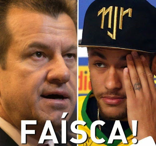 Dunga critica postura de Neymar na Copa!
