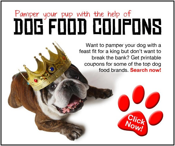 How to get free dog food coupons