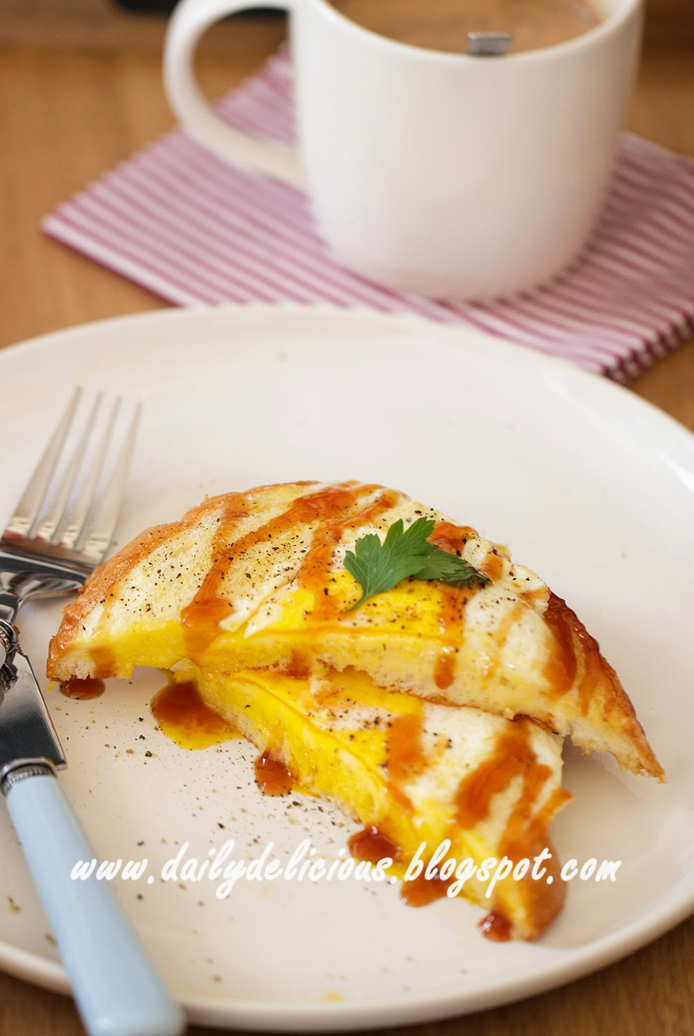 dailydelicious: Good morning!: Egg and Cheese Breakfast ...