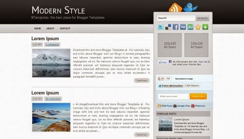 modern-style-blogger-template