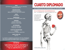 Cuarto Diplomado de Formación de Profesores en Ortopedia