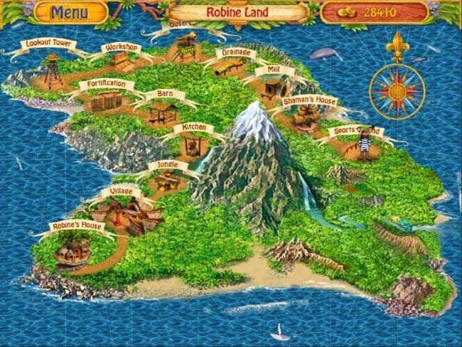 Game Robins Island Adventure