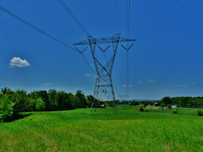 Powerline Transmission Tower
