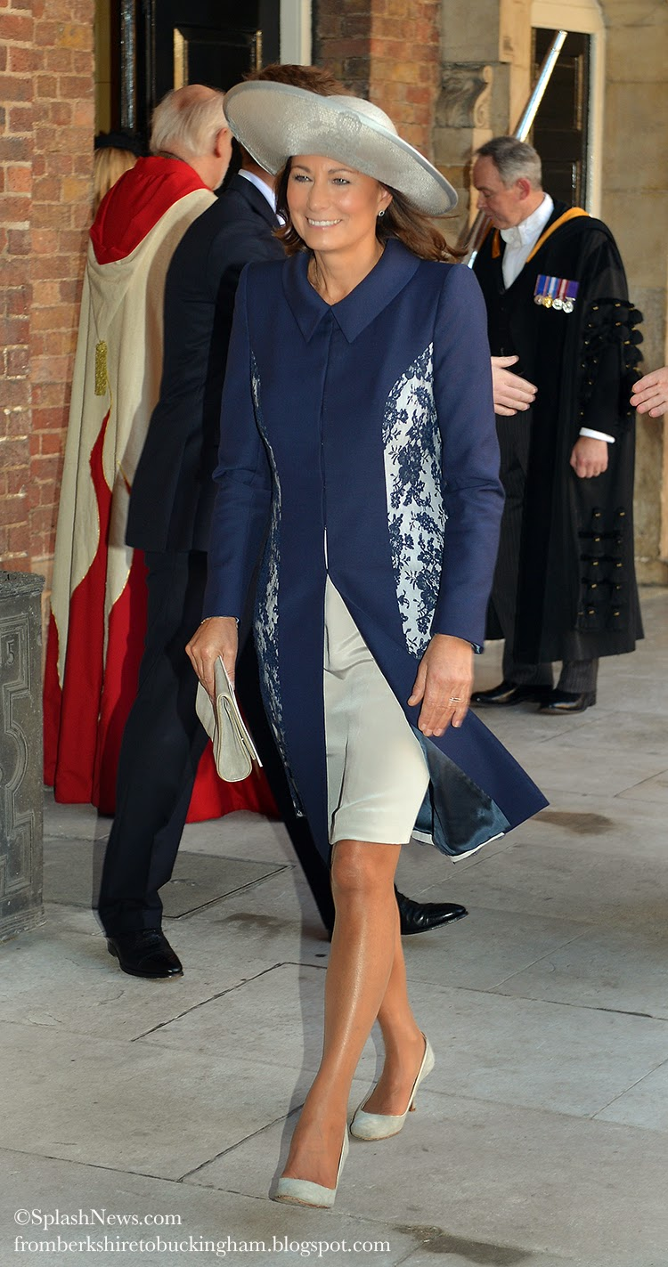 Carole middleton dressing to rub shoulders with royalty