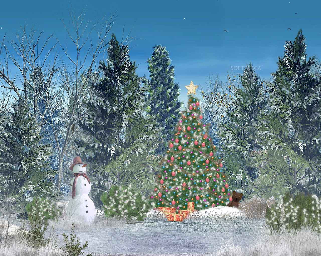 animated christmas desktop wallpaper for windows 7