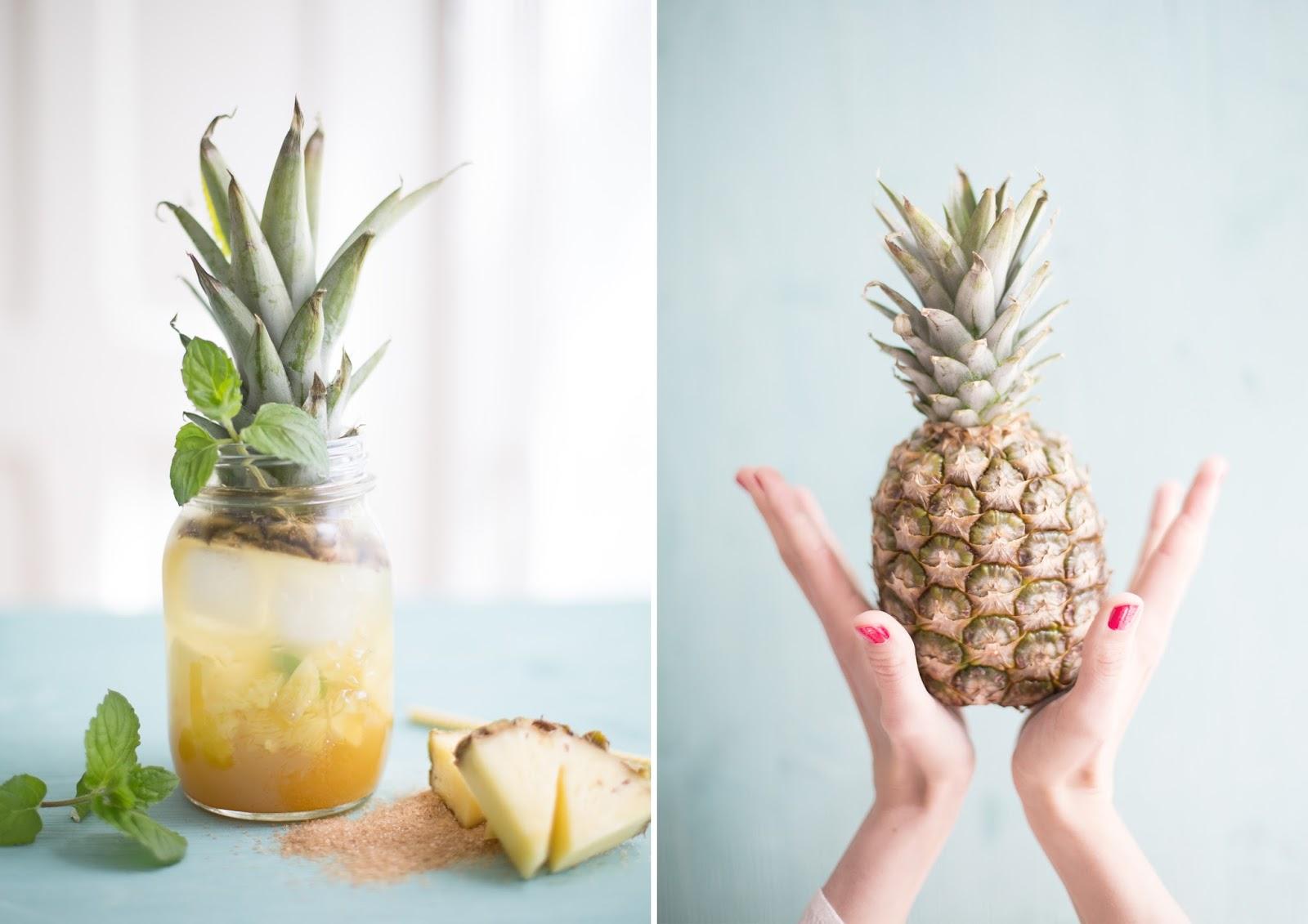Ananas Cooler für heiße Tage