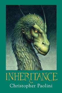 Inheritance Christopher Paolini book cover