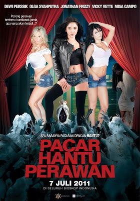 Trailer Film Pacar Hantu Perawan yang dibintangi @vickyvette