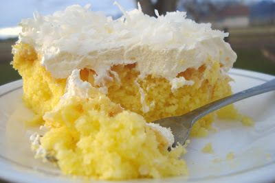 Coconut Cake Icing With Cool Whip