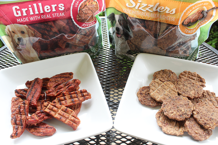 Nudges Grillers and Sizzlers natural dog treats