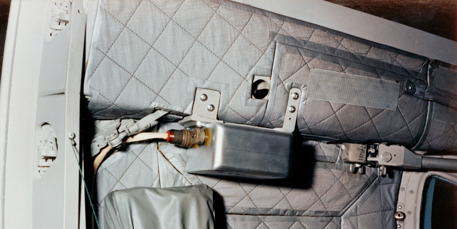physics buzz the bermuda triangle of space nasa s bremsstrahlung spectrometer mounted inside of gemini 12 it measured radiation levels inside the spacecraft while it flew through the south atlantic